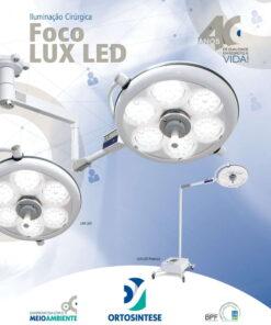 Foco LUX LED Iluminação Cirúrgica