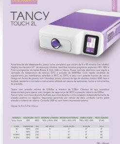 Autoclave Tancy Touch 2L